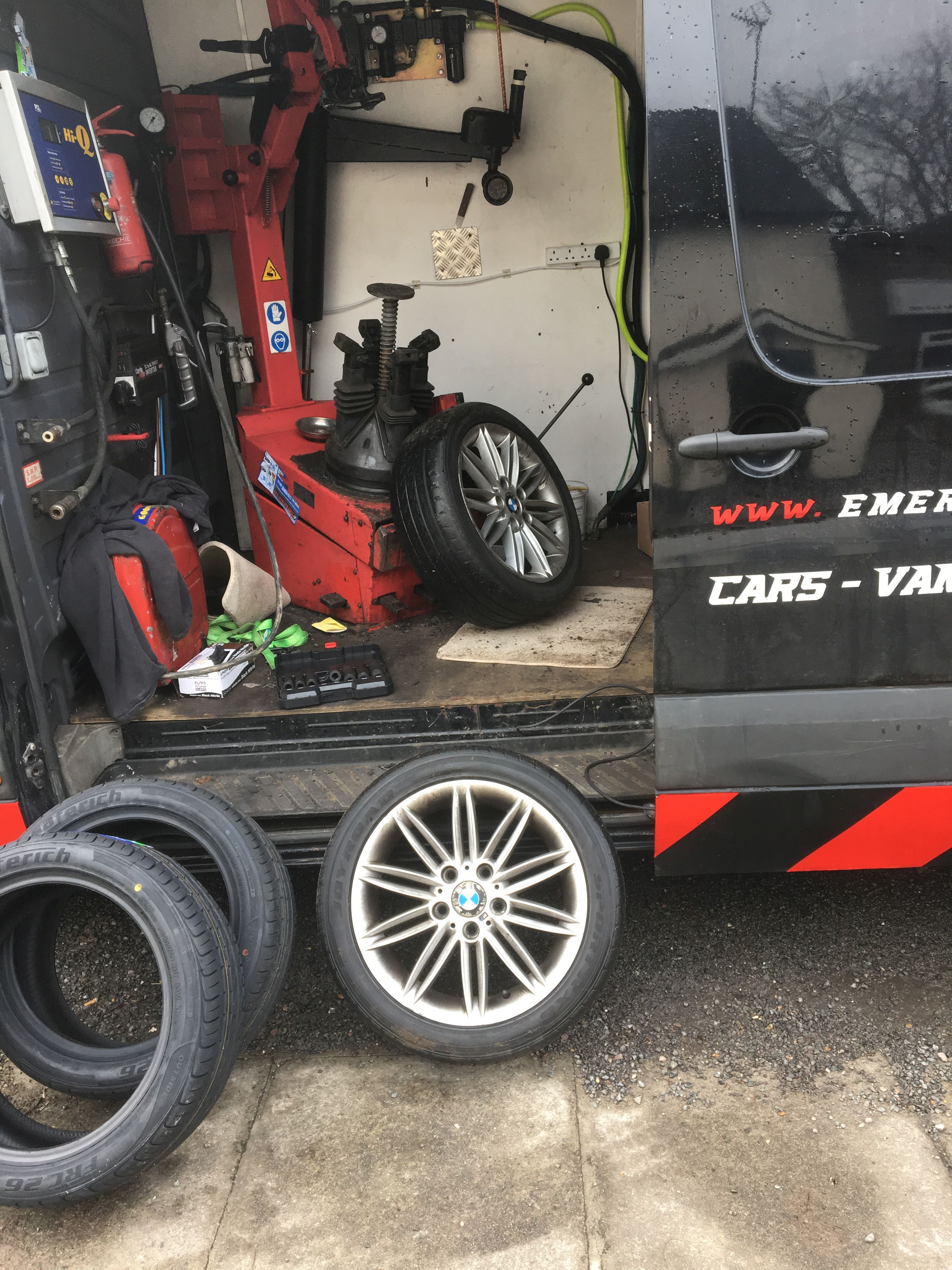 Roadside Tyre Assistance, North London and Surrounding Areas